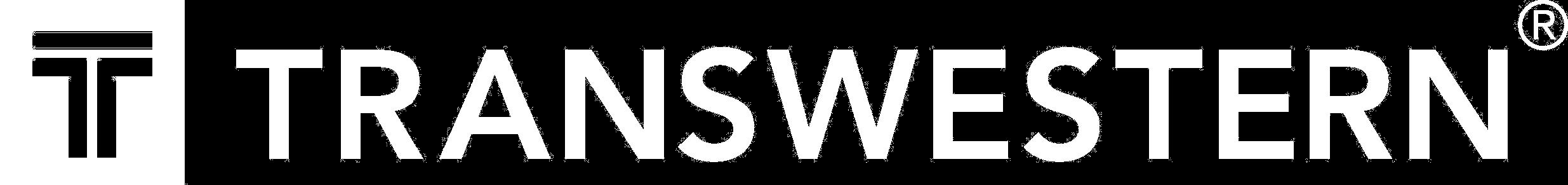 Transwestern Logo White Trans